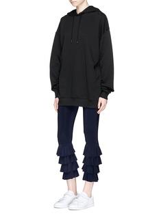 Norma KamaliRuffle jersey leggings