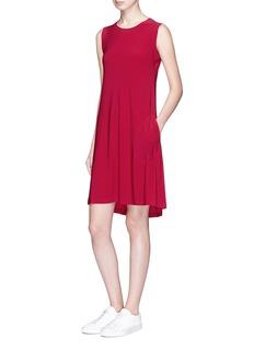 Norma KamaliSleeveless swing dress