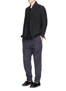 Ziggy ChenRelaxed fit cotton poplin pants