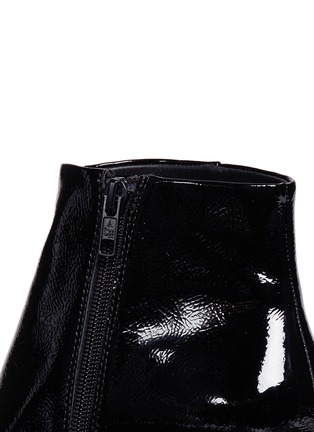 Detail View - Click To Enlarge - Ash - 'Heroin' patent leather ankle boots