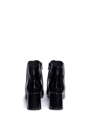 Back View - Click To Enlarge - Ash - 'Heroin' patent leather ankle boots