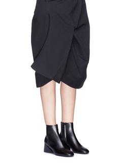 Mercedes Castillo 'KylerLow' sculpted heel leather ankle boots