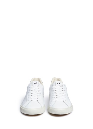 Front View - Click To Enlarge - Veja - Esplar' low-chrome leather sneakers