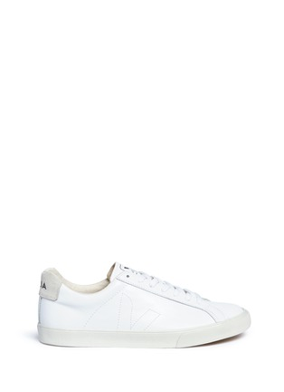 Main View - Click To Enlarge - Veja - Esplar' low-chrome leather sneakers
