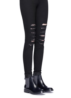 Ash 'Winona' stud welt leather Chelsea boots