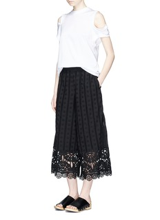 Opening Ceremony Broderie anglaise culottes