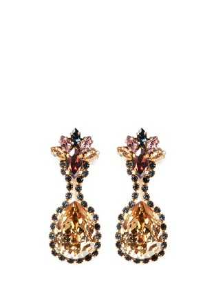 Main View - Click To Enlarge - Erickson Beamon - Happily Ever After' mix crystal drop earrings
