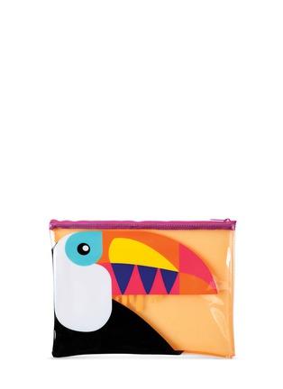 - Sunnylife - Toucan See Thru beach pouch