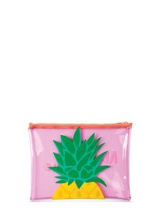 SunnylifePineapple See Thru beach pouch