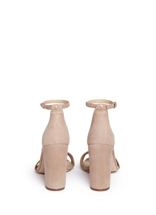 Back View - Click To Enlarge - Sam Edelman - 'Yaro' ankle strap suede sandals