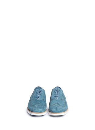 Figure View - Click To Enlarge - Cole Haan - ZeroGrand' suede Oxfords