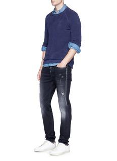 Denham 'Bolt' ripped skinny jeans