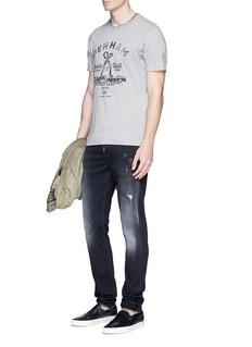 Denham 'Marine & Walk' print T-shirt