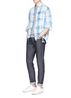 Denham 'Razor' raw selvedge jeans