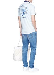 Denham 'Fan of Japan' print T-shirt