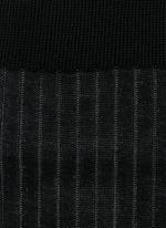 'Shadow' stripe knee socks