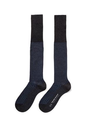 首图 - 点击放大 - FALKE - SHADOW拼色条纹袜子