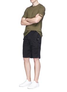 HELMUT LANGUtility棉质斜纹布短裤