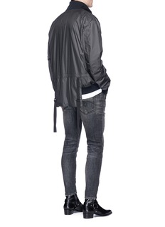 Helmut LangNylon seersucker track jacket