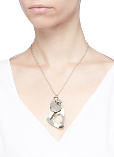 MOUNSER 'Sea Forms' mixed pendant necklace