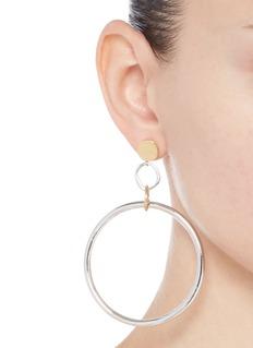 MOUNSER 'Isamu' hoop earrings