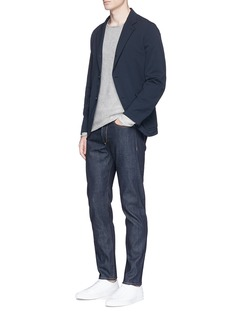 rag & bone 'Fit 2' raw slim fit jeans