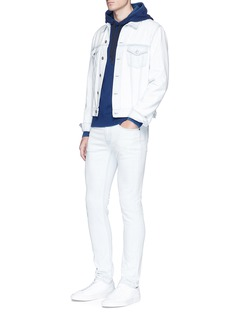 rag & bone'Damon' cotton hoodie