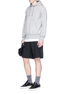 rag & bone 'Ryder' seersucker shorts