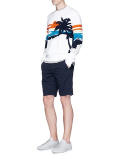 rag & bone 'Brody' palm tree intarsia sweater