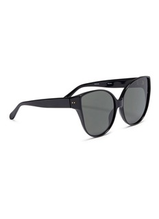 Linda Farrow Oversized acetate cat eye sunglasses