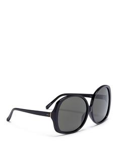 Linda Farrow Oversized acetate square sunglasses