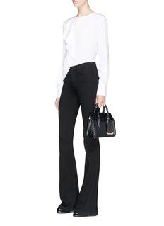 Alexander McQueen 'Heroine 21' mini croc embossed leather bag