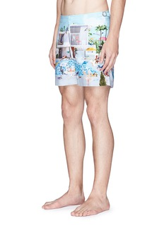 Orlebar Brown 'Bulldog' Pool print swim shorts