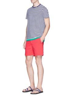 Orlebar Brown 'Sammy' contrast hem Breton stripe T-shirt