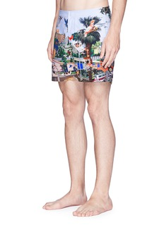 Orlebar Brown 'Bulldog' Hills print swim shorts