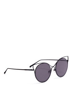 Stephane + Christian 'Milkyway' metal cat eye sunglasses