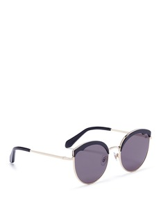 Stephane + Christian 'Cotton Candy' round cat eye sunglasses