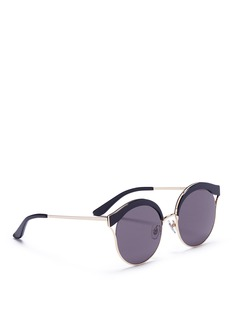 Stephane + Christian 'Malena' acetate browline sunglasses
