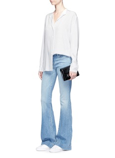 J Brand 'Love Story Flare' low rise jeans