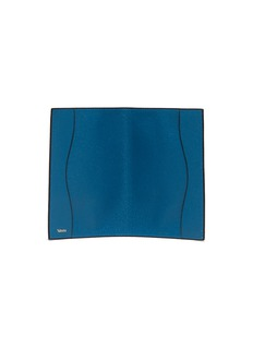 Valextra Leather passport holder – Cobalt Blue