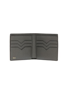 Valextra Leather bifold wallet – Smokey London Grey