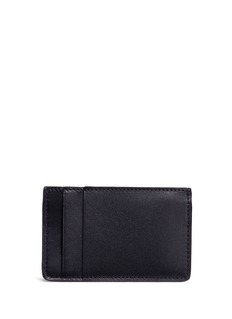 Alexander McQueen Leather card holder