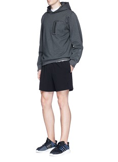 Particle Fever Metallic panel performance shorts