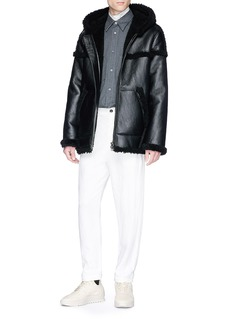 Acne Studios 'Luna' lambskin shearling leather jacket