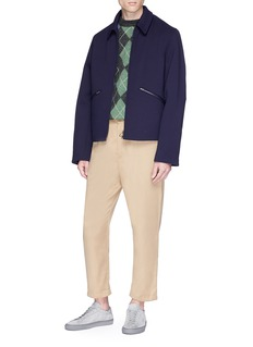Acne Studios 'Miles' colourblock twill shirt jacket