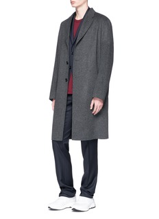 Acne Studios 'Chad' brushed wool-cashmere coat