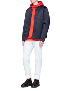 Acne Studios 'Mylon Matt' padded MA-1 bomber jacket