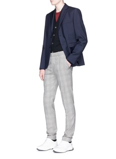 Acne Studios 'Neve' face patch wool cardigan