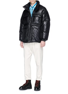 Acne Studios 'Minus' retractable hood down puffer jacket