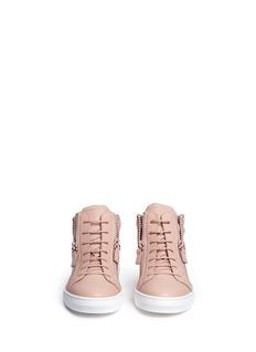 GIUSEPPE ZANOTTI DESIGN Cruel Junior儿童款翅膀装饰真皮运动鞋